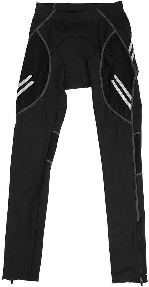 VGEBY1 Pantalones Deportivos, Pantalones elásticos de Hombre Transpirables para Montar a Caballo Actividades Deportivas (M) (Negro)