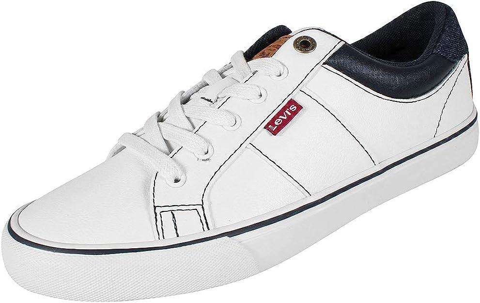 Levi's Abbott White Herren Sneaker Weiß