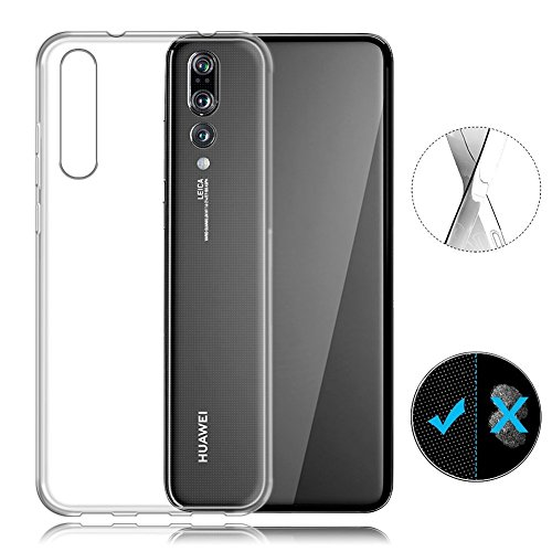 AVIDET Huawei P20 Pro Case, Crystal Clear Soft Thin Anti-scratches