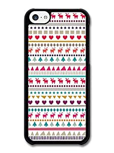 MMZ DIY PHONE CASEMerry Christmas Trees Reindeers Stars Hearts Pattern case for iphone 5/5s