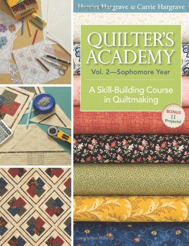 Quilter's Academy Vol. 2 - Sophomore Year: A Skill-Building Course In Quiltmaking ebook