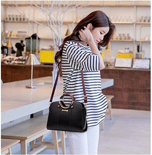 Bag Bolso Crossbody Bandolera de Moda de CCZUIML Bolso negro Casual Mujer Caqui RdwTq11g5