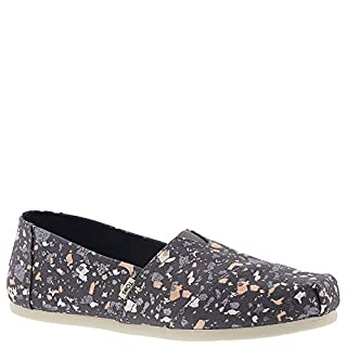 TOMS Women's Alpargata Forged Iron Grey Metallic Granite Fleck (Vegan) 7 B US (B07787JVW9) | Amazon price tracker / tracking, Amazon price history charts, Amazon price watches, Amazon price drop alerts