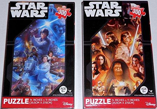 Star Wars Jigsaw Puzzle 300 piece (set of 2)