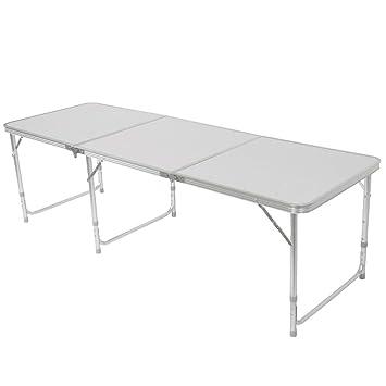 Amazon.com: Kanizz - Mesa plegable de aleación de aluminio ...