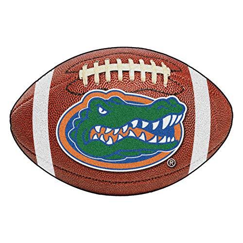 FANMATS NCAA University of Florida Gators Nylon Face Football Rug
