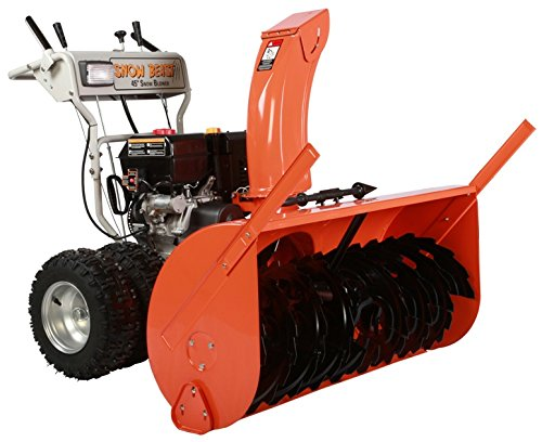 Snow Beast 45SBM16 45'' Commercial 420cc Electric Start 2-Stage Gas Snow Blower by Snow Beast