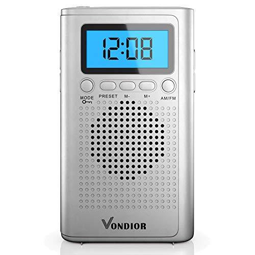 AM FM Portable Digital