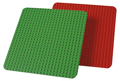 LEGO Education Duplo Large Building Plates, Assorted Color, 38cm x 38cm
