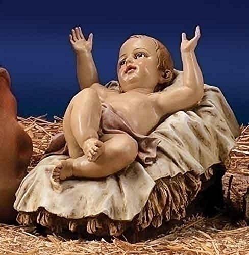 39' Scale Joseph's Studio Baby Jesus Christmas Nativity Outdoor Statue in Color