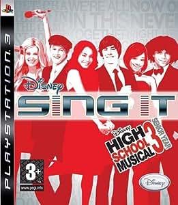 Disney Sing It: High School Musical 3 Senior Year by Disney (2008) - PlayStation 3