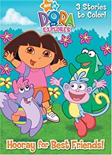 Dora The Explorer Deluxe Coloring Book