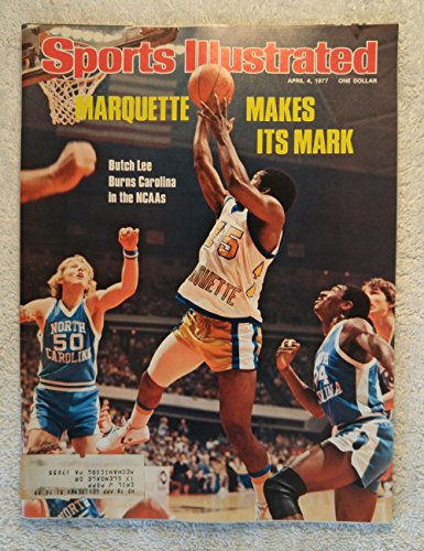 e Golden Eagles - 1977 National Champions! - Sports Illustrated - April 4, 1977 - North Carolina - College Basketball - SI (1977 Sports Illustrated Magazine)