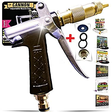 OUTBACKTUFF Cannon Metal Hose Nozzle Sprayer