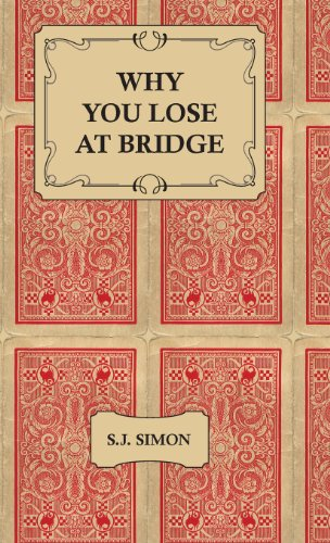 Why You Lose at Bridge