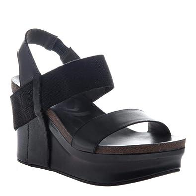 67610dbd5 Amazon.com | OTBT Women's Bushnell Wedge Sandals | Platforms & Wedges