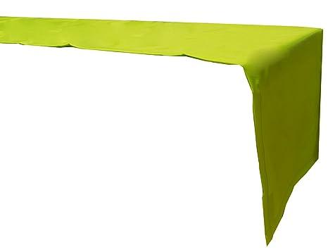Rectangular Beo Exterior de manteles Impermeable Camino de Mesa 120/x 45/cm Color Verde Claro