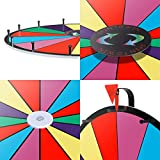 """Smartxchoices 24"""" Spinning Prize Wheel with Height"""