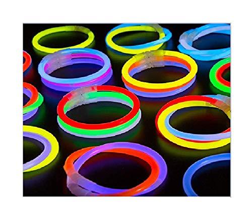 200-Pack Glow Stick Bracelets by CoBeeGlow | Bulk