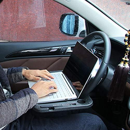 Huihuay Lenkrad Tisch Auto Schreibtisch Kaffee Halter Laptop Universal Tragbar Ess Tablett Küche Haushalt
