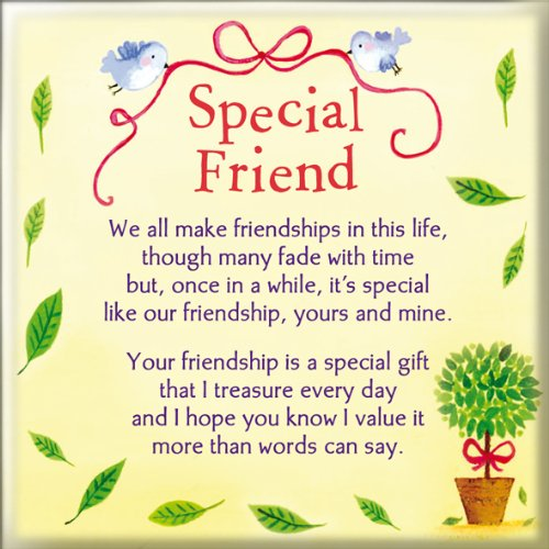 Fridge Magnet - Special Friend WPL