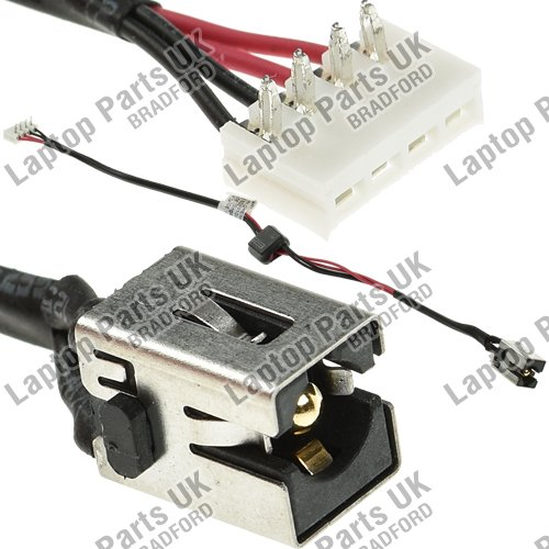 NEW POWER JACK DC SOCKET CONNECTOR TOSHIBA SATELLITE C660 C660D CABLE