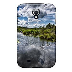 Fashion Protective Beautiful Stream Case Cover For Galaxy S4