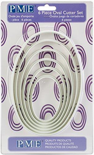(PME PNO3 Oval Cutter, Set of 6,)