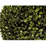 Artificial-UV-Rated-Outdoor-21-Square-Boxwood-Topiary-Tree-Bundled-with-Rock-Planter-Cover-by-Silk-Tree-Warehouse