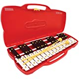 Percussion Workshop KB13 Glockenspiel with Case - Red
