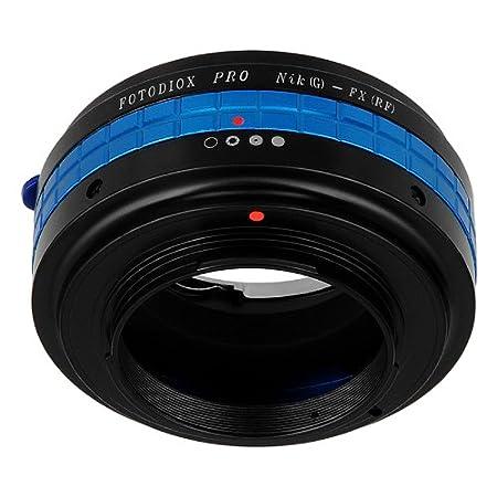 y DX-Tipo a c/ámara sin Espejo Fujifilm X-Pro1 Adaptador de Montura de Lente Fotodiox Nikon G-Tipo