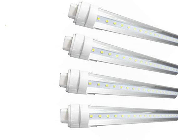CYLED T8/T10/T12 LED Light Tube, 8ft 40W R17d, Replacement Philips ...