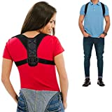 Posture Corrector for Men and Women Comfortable Upper Back Brace Clavicle Support Device