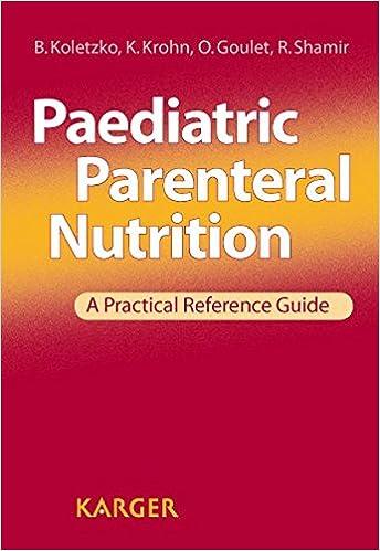 Como Descargar Libros En Paediatric Parenteral Nutrition: A Practical Reference Guide Archivo PDF