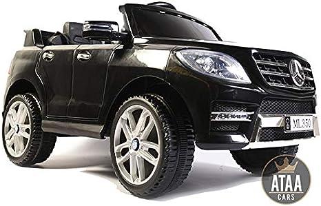 ATAA Mercedes ML350 Licenciado batería 12v - Negro - Grandes Dimensiones 110*67*53cm