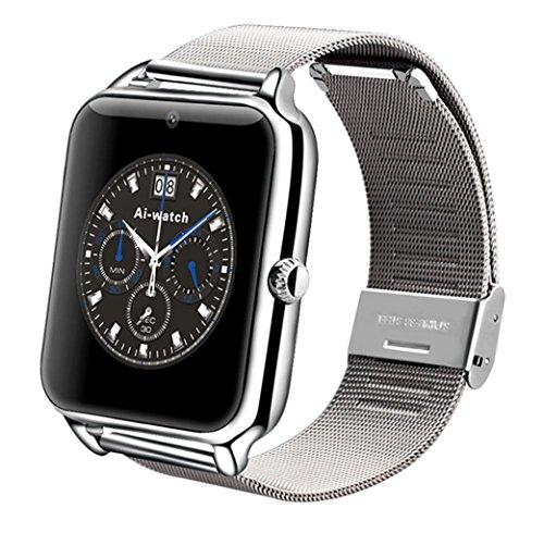 2016 Men Women WristWatch Bluetooth Smart Sport Watch White - 7