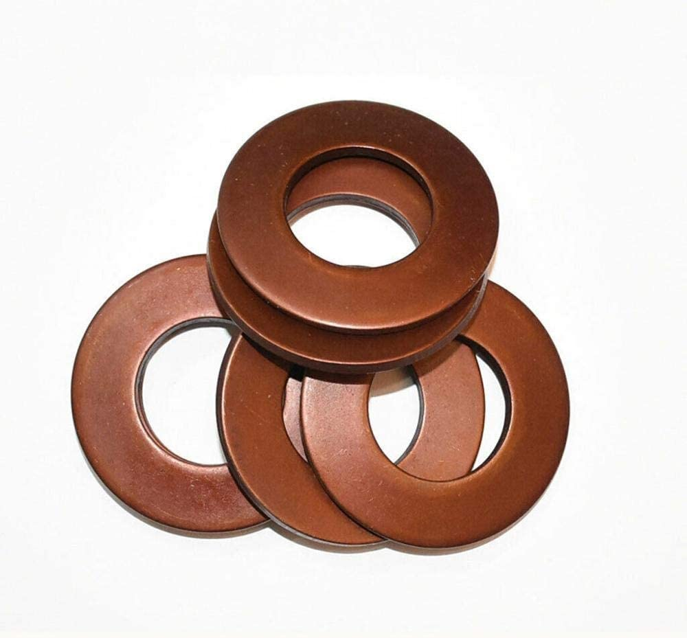 Size : 10 x 5.2 x 0.5mm YQ-RB 30pcs 60Si2MnA Belleville Compression Spring Washer Disc Spring Outer Dia 8//10//12.5mm Inner Dia 4.2-6.2mm Thickness 0.2-0.7mm