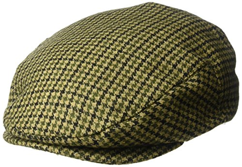 Brixton Men's Hooligan Driver Snap Hat, black/olive, Medium