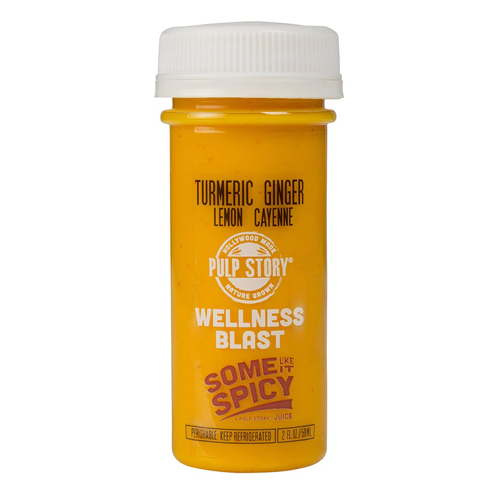 PULP STORY Some Like It Spicy Cold Pressed Turmeric Juice Wellness Shots, 2 Ounce Single Servings, 16 Count by PULP STORY (Image #3)
