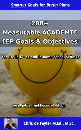 Amazon 200 measurable academic iep goals objectives 200 measurable academic iep goals objectives special education smart goal series book 1 fandeluxe Images