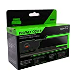 Emio Xbox One Privacy Flip Cover Camera Lens Cover and Protector For Kinect Xbox One Motion Sensor, Glossy Black. Protects Lense From Dust and Scratches. Open for motion gaming. Close for privacy.