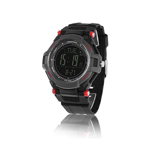 Spovan® Reloj de Pulsera Outdoor Termómetro Altímetro Barómetro Brújula Montaña: Amazon.es: Relojes