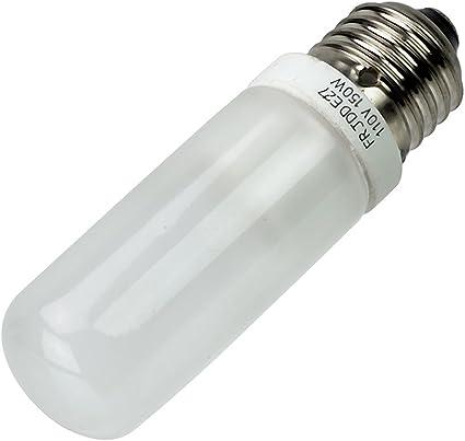 Renewed Bulbrite Q250FR//EDT 120-Volt Halogen JDD Type Tubular Medium E26 Bulb 250-Watt Frosted