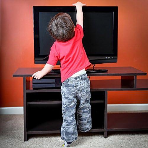 Kinder und Haustiere 8 Wandanker Befestigungen mit Schrauben liltourist Fernseher und M/öbel Kippsicherung Kindersicherungs-Set f/ür Baby