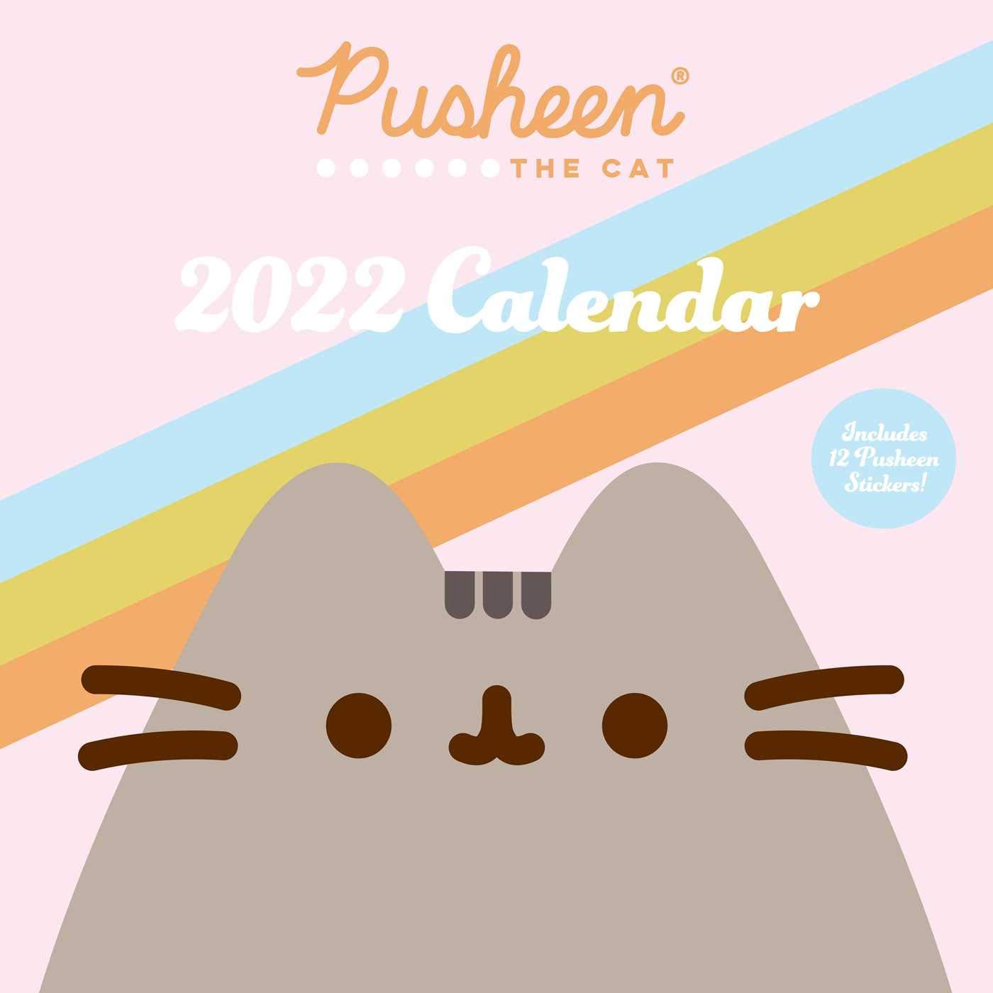 Cat Calendar 2022.Buy Pusheen 2022 Wall Calendar Book Online At Low Prices In India Pusheen 2022 Wall Calendar Reviews Ratings Amazon In