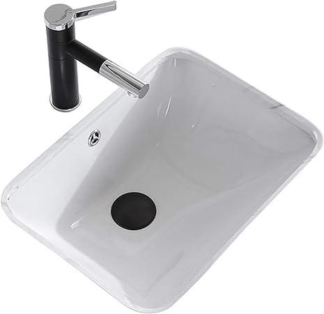 Lavabos de salle de bain Rectangulaire De Lavabo sous Le ...