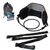 Portable Hammock for Neck to Relief Pain and Stress – Easy to Use Cervical Traction Device by Manakin Care – English and Spanish Instructions Included