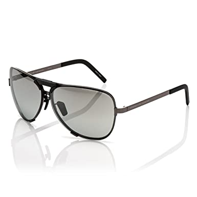 75e93c224d2 Amazon.com  Porsche Design Titanium Sunglasses P8678 A Dark Gun 67-11 -  Unisex  Clothing
