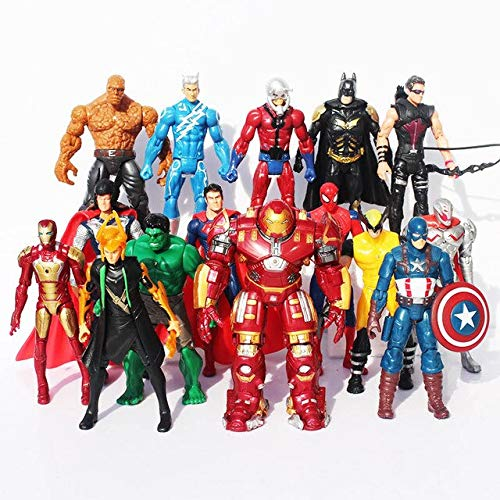 WEKIPP The 2 Age of Ul Man Buster PVC Action Figure Toys -Multicolor Complete Series Merchandise