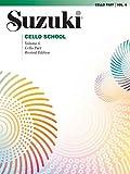 Suzuki Cello School, Vol 6: Cello Part